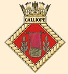 The modern-day Calliope badge.