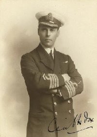 Cecil Fox, after surviving the Samoa Hurricane on HMS Calliope. Image found on the internet so not a verified likeness.