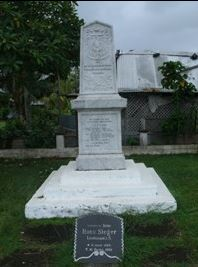 German Memorial in Apia