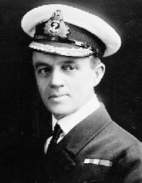 Sidney Robert Drury Lowe, after surviving the Samoa Hurricane on HMS Calliope.